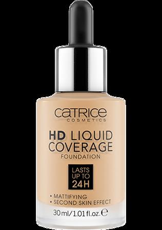 CATRICE Hd Liquid Coverage Płynny Podkład 036 Hazelnut Beige  30ml