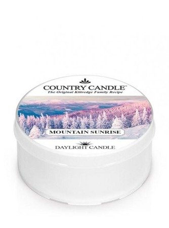 COUNTRY CANDLE Daylight  Mountain Sunrise