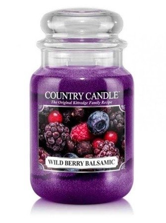 COUNTRY CANDLE Duży Słoik  Wild Berry Balsamic