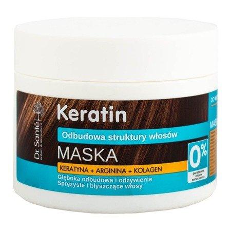 Dr. Santé Maska do Włosów z Keratyną, Argininą, Kolagenem 300 ml