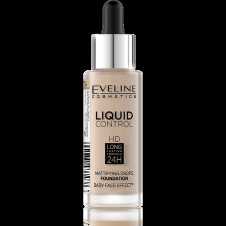 EVELINE Podkład Liquid Control Hd 015 Light Vanilla 30ml