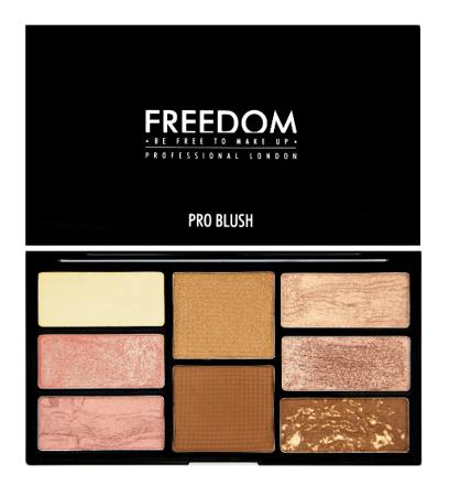 FREEDOM Pro Blush Palet Bron& Baked Zestaw Róży