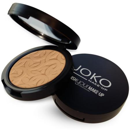 JOKO Puder Finish Your Make-up  Puder Prasowany 13 Ciemny Beż