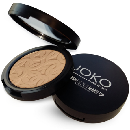 JOKO Puder Finish your Make-up Puder Prasowany 11 Porcelanowy