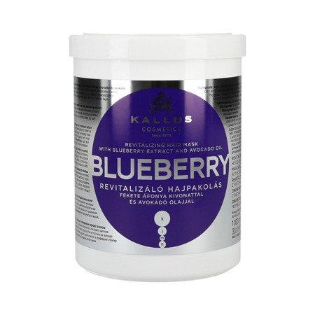 KALLOS BLUEBERRY Maska Jagodowa z Avocado 1000 ml