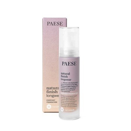 PAESE Podkład  Nanorevit Natural Finish Longwear Everyday Foundation 05 Natural 35 ml