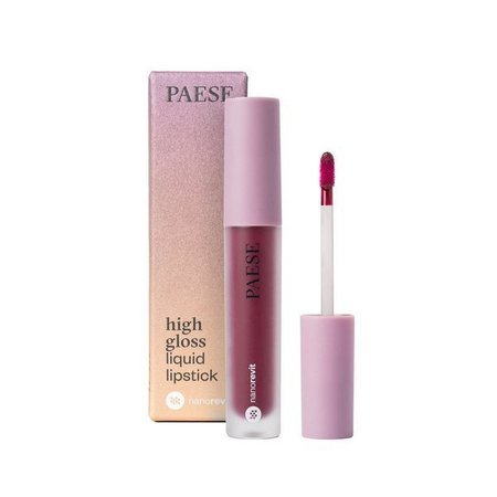 PAESE  Pomadka W Płynie Nanorevit High Gloss Liquid Lipstick  54 Sorbet 4,5 ml